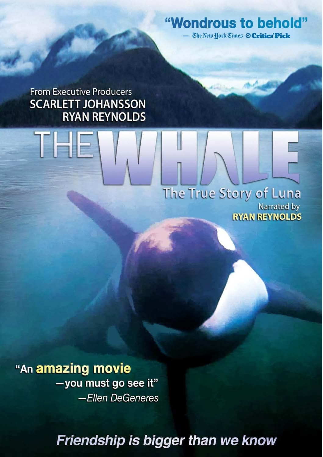 Maybe you saw Blackfish, and maybe it left you feeling kind of bad at the end of it. Enter: The Whale. The story of Luna, a two year old ...