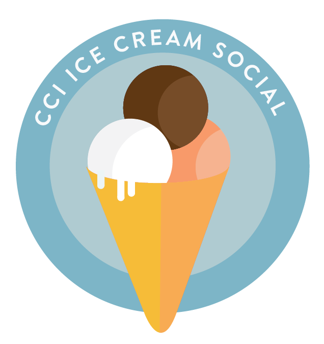 Ice Cream Social Illustration